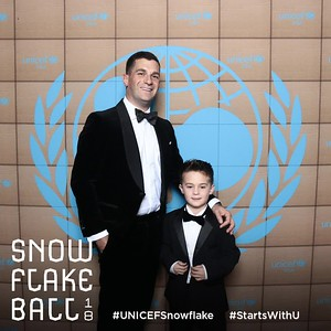 2018 UNICEF Snowflake Ball Photo Booth