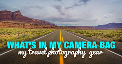 Photo Equipment for Travel Photography