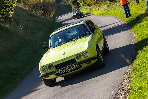 Reliant Scimitar GTE Yellow 1972