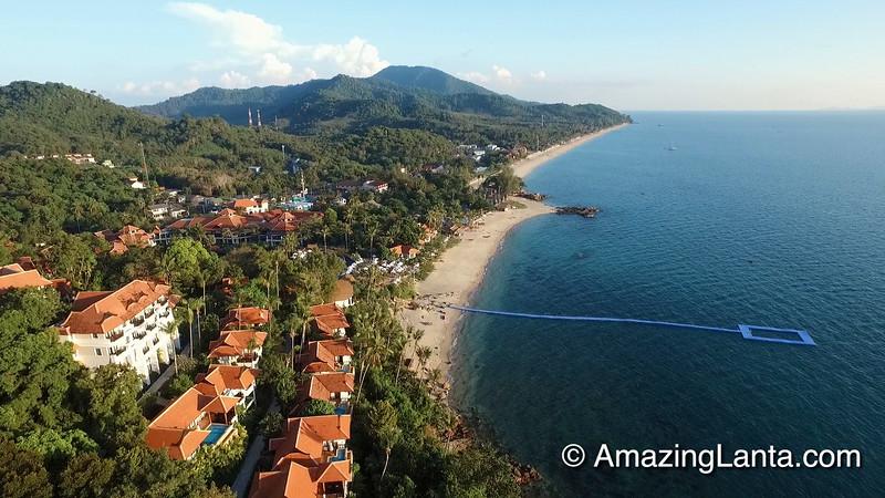 Rawi Warin Villas Aerial View