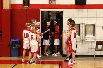 Girls Varsity Basketball - 2008-2009 - 1/8/2009 Ludington
