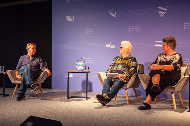 Doug Johnstone chats to Val McDermid & Jo Sharp about Imagine a Country at the Edinburgh International Book Festival Online