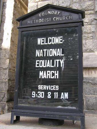 USA: Washington, DC National Equality March (2009)