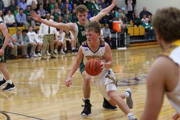 Basketball Boys Varsity vs Hackett - KCHS 1/30/20