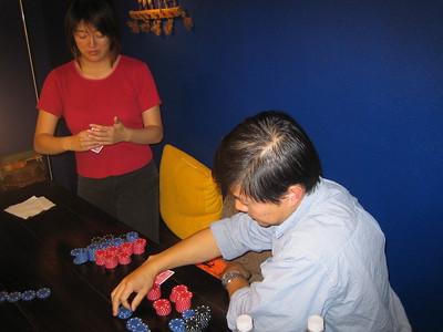 Poker night October 2005