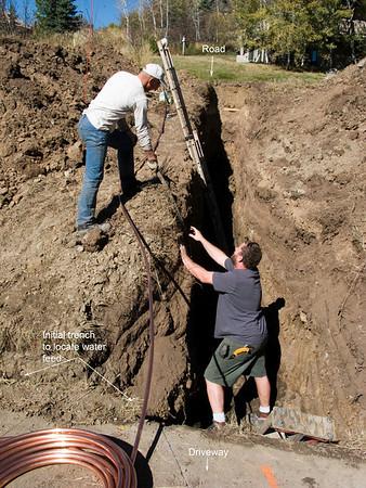 Water supply repair