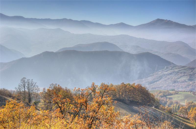 Misty - Castelnovo ne' Monti, Reggio Emilia, Italy - November 13, 2011