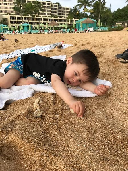 Finn Pu'u Poa Beach