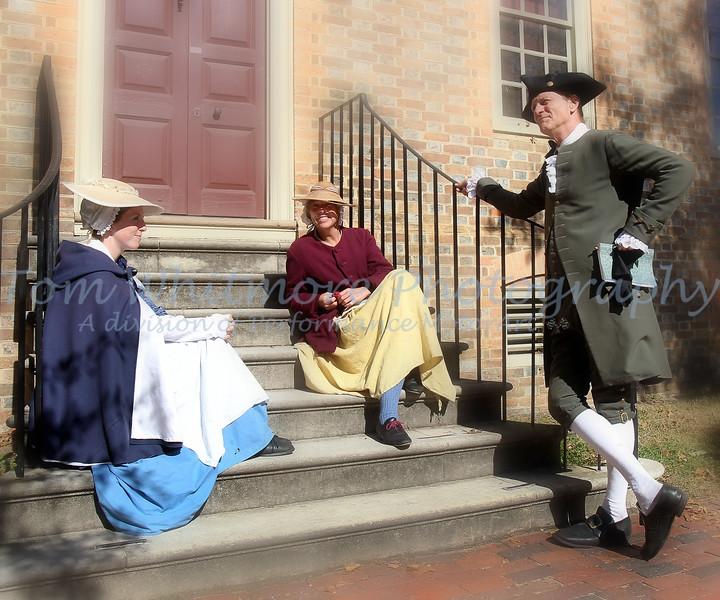 Williamsburg period actors.