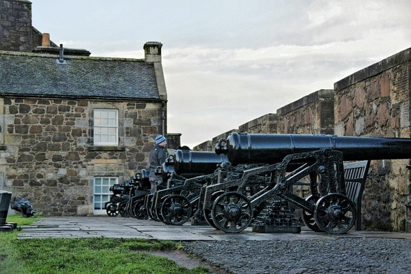 tanks at the Stirling Castle