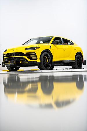 Paddock Lamborghini Urus