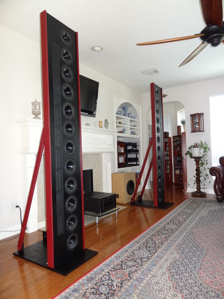 "The DR912ad ""Towers of Awesomeness"" speakers"