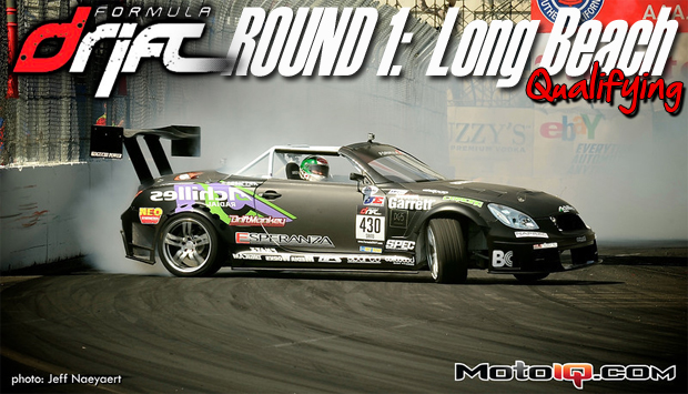 Formula Drift Round One: Long Beach Qualifying