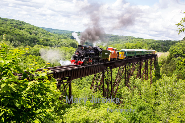 Boone and Scenic Valley Railroad -May 28, 2016