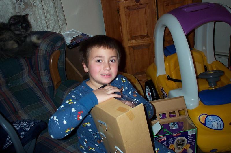 2001  Christmas at Kilgallons