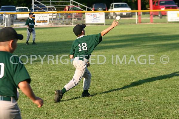 July 7, 2007 Little League District 6 9/10 Tournament, Yorktown 12 - Aurora 1
