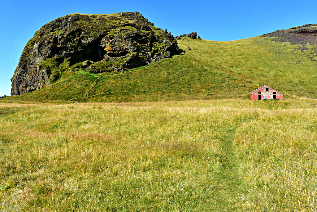 Cave of Loftsalahellir along Iceland's South Coast