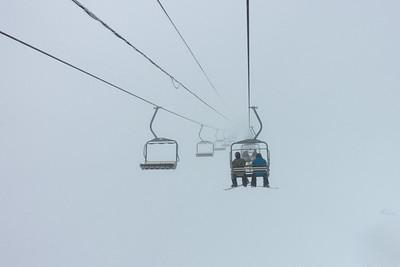 Skiing in the FOG