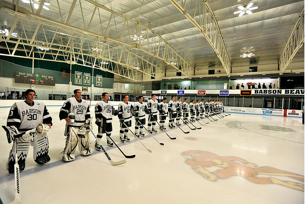 BABSON HOCKEY  V  ST. ANSELM COLLEGE  11.2.2012