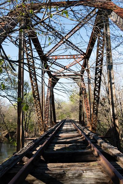 Train Bridge Plano TX MAR2016