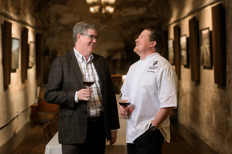 Peter and Rob (Lifestyle Portrait Photography) @ Testarossa Winery in Los Gatos