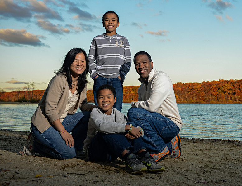 Richard & Chunyee Family Photo Shoot