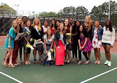 Girls Tennis 4/23/15
