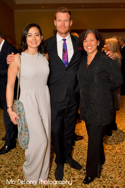 Caroline and William Lane and Monica Martinez