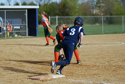 OE JV softball Vs Plainfield East