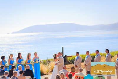 Chris+Jamie ~ Shell Beach Wedding