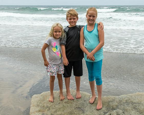 Santa Luz & Del Mar beach - July 2014