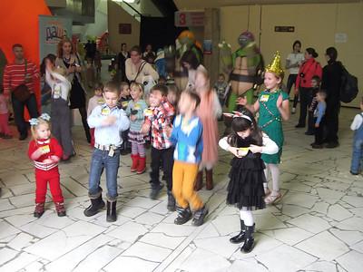 2013-12-31, Nickelodeon and Dora the Explorer show at Druzhba Arena