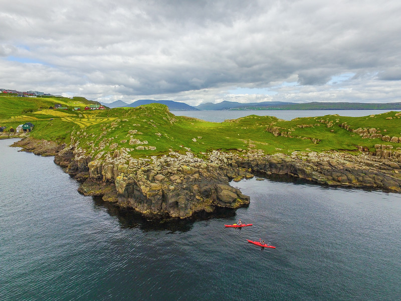 Kayaking in the Faroe Islands