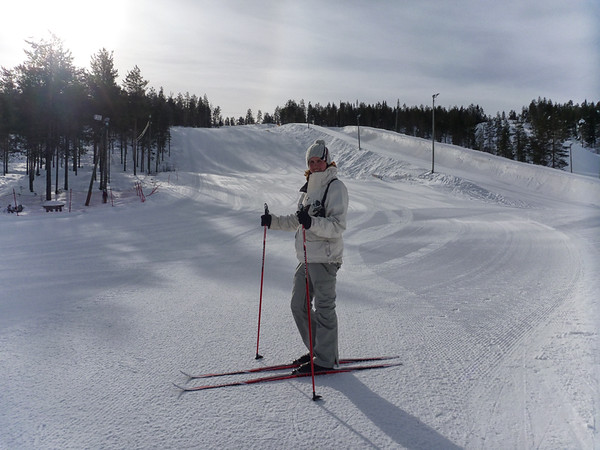 Standing on Skis