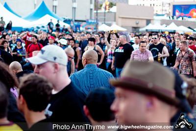 Agnostic Front - Punk Rock Bowling 2011 Music Festival - Fremont Street - Las Vegas, NV - May 30, 2011