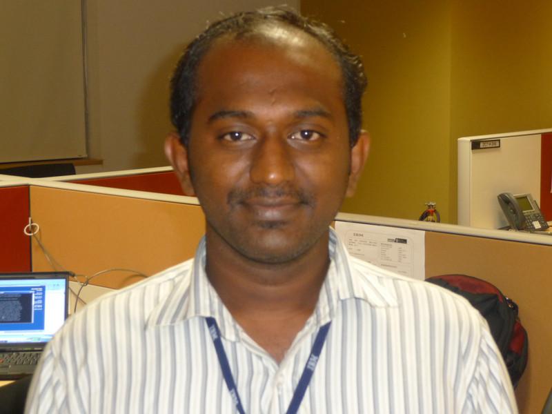 Shanmuga - Linux team member