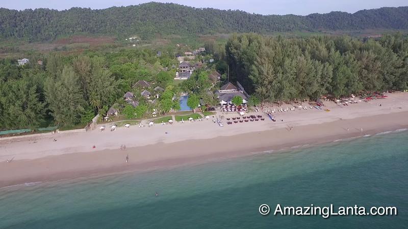 Layana Resort Aerial View