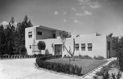 Villa Oppenheimer, Rehovot - 1934