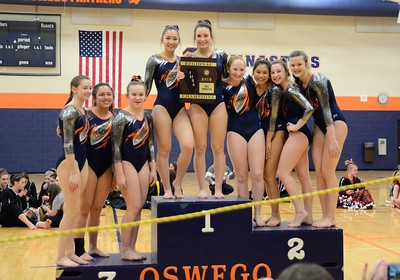IHSA Girls Gymnastics Regional 2019