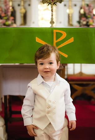 Seán's Christening Day