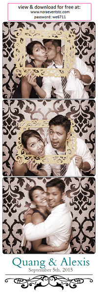 Quang and Alexis {photo strips}