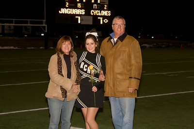 11-06 Varsity Cheer Sr Night