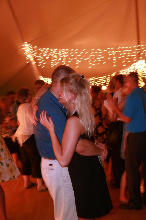 RHEA-BOYER WEDDING - THE RECEPTION IN THE WOODS