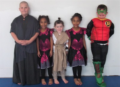 10/30-10/31 2017 Classes and Halloween