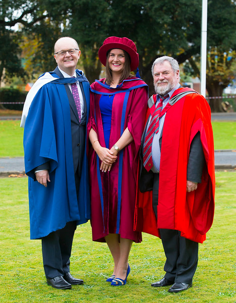 03/11/2016. Waterford Institute of Technology (WIT) Conferring Ceremonies November 2016:  Pictured is Aisling O'Neill, Butlerstown, Co. Waterford who was conferred a PhD. Picture: Patrick Browne