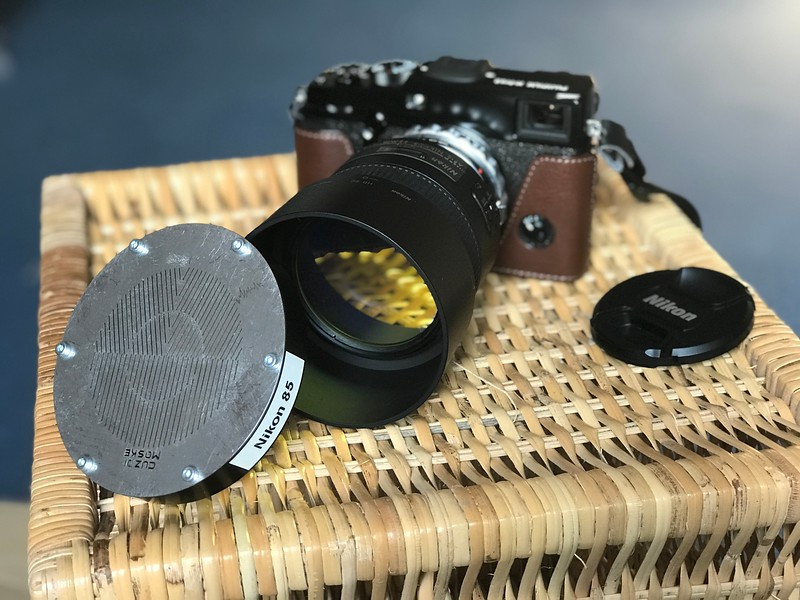 85mm f1.8, LPS filter, focussing mask