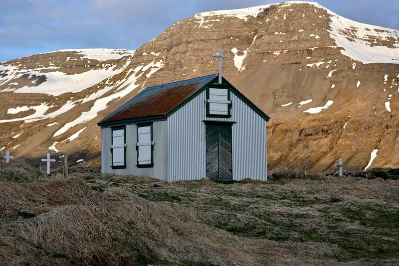 Fururfjörður. Bænhús 2016.