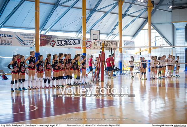 Piemonte - Sicilia #Finale3º [F]  #TDRVolley2016