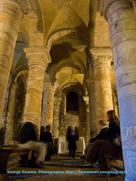 Durham Castle - Chapel down below
