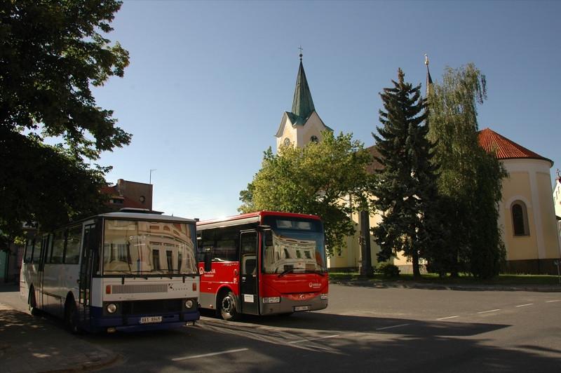 Public Transport in the Czech Countryside - Bohemia, Czech Republic